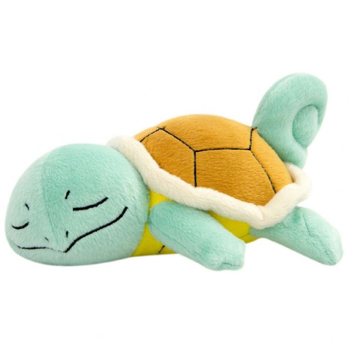 Pokemon Sleeping Squirtle Plush | Buy now at The G33Kery - UK Stock - Fast Delivery